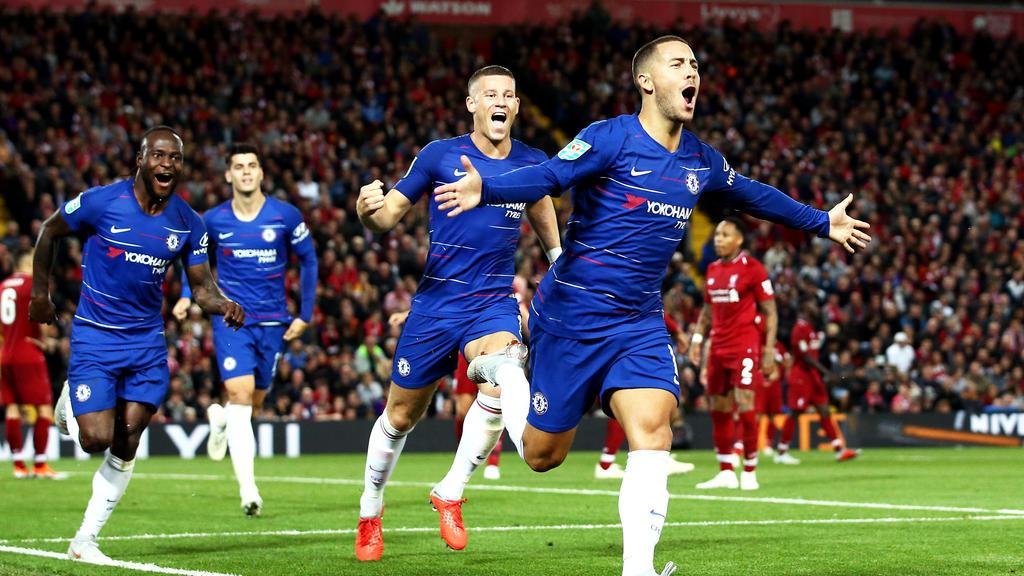 Der FC Chelsea mischt mit Superstar Eden Hazard die Premier League auf