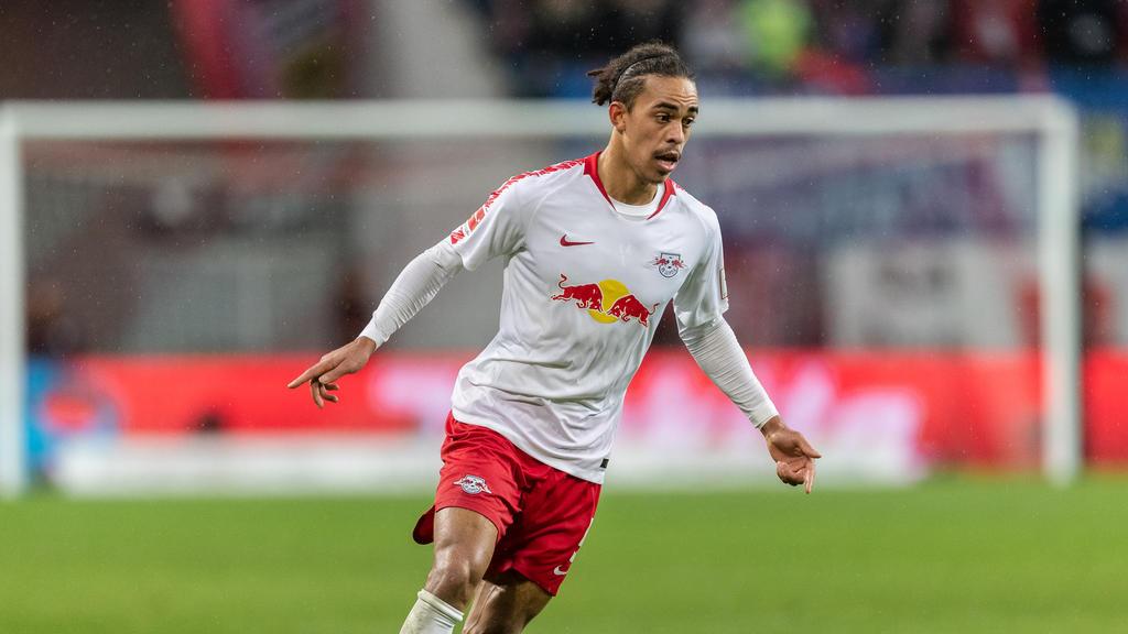 Yussuf Poulsen sieht seine Zukunft in Leipzig