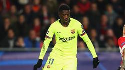 Ousmane Dembélé ist in der Vergangenheit bereits negativ aufgefallen