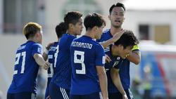 Takehiro Tomiyasu erzielte den Siegtreffer für Japan
