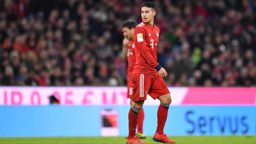James will in der Rückrunde noch eine wichtige Rolle bei den Bayern spielen