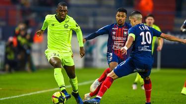 Der BVB ist angeblich an Boubakary Soumaré (li.) vom OSC Lille interessiert