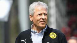 BVB-Trainer Lucien Favre lobt den FC Schalke 04