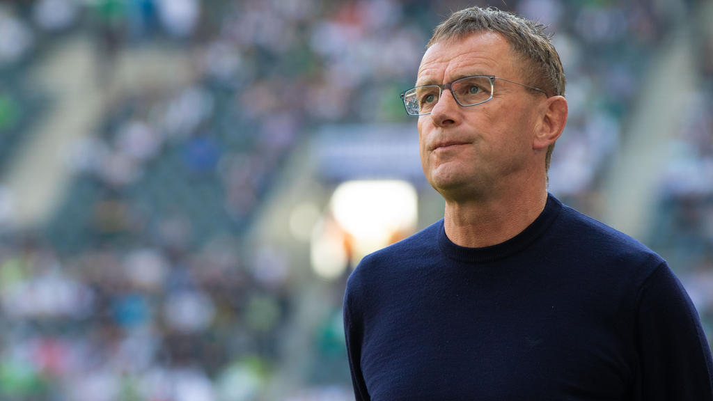 RB-Coach Ralf Rangnick vertraut gegen Freiburg dem gewohnten Personal