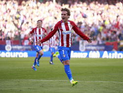 Griezmann marcó un golazo de tiro libre directo. (Foto: Getty)