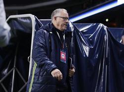 Legt großen Wert auf taktische Disziplin: Lars Lagerbäck