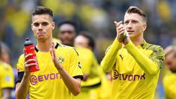 Julian Weigl will künftig mit BVB-Kapitän Marco Reus für Deutschland spielen