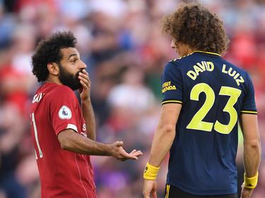 Mo und Tingeltangelbob - alias Salah und David Luiz