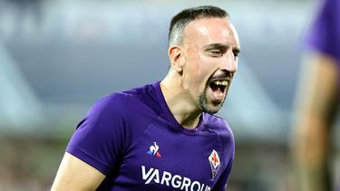 Franck Ribéry konnte die Niederlage nicht abwenden