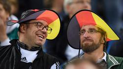 Deutsche Fans vor dem Spiel gegen die Niederlande