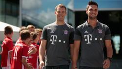 Torhüter Sven Ulreich verteidigt seinen Kollegen Manuel Neuer