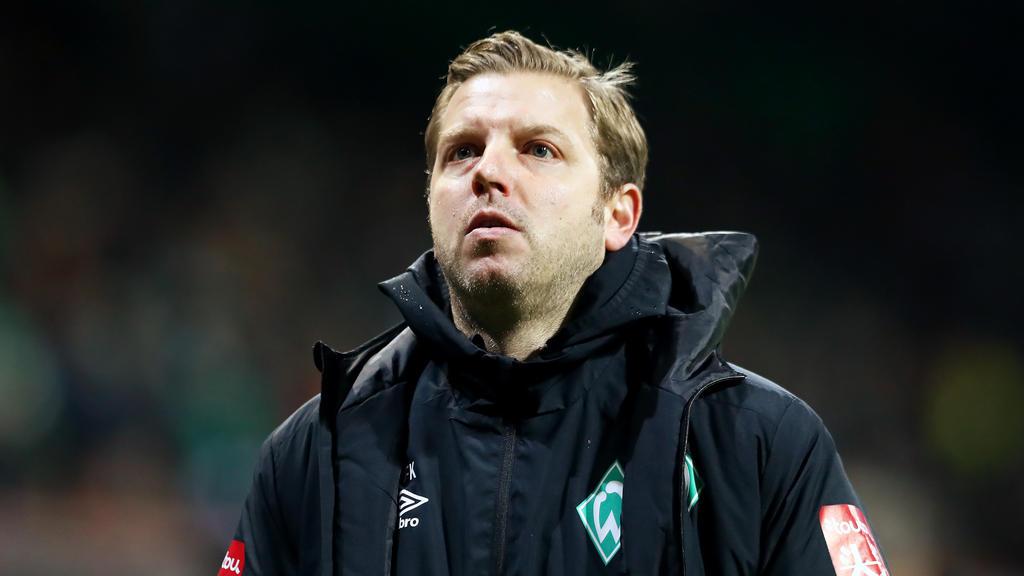 Florian Kohfeldt durchlebt mit Werder Bremen eine sportliche Krise