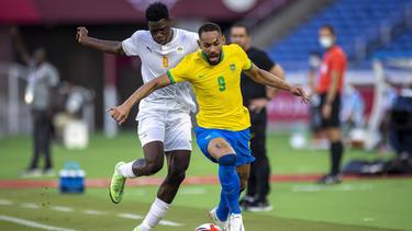 Brasiliens Olympia-Fußballer kamen nicht über ein 0:0 gegen die Elfenbeinküste hinaus