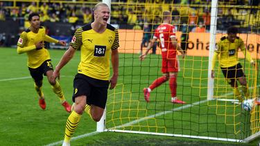 Erling Haaland war beim BVB einmal mehr der Matchwinner