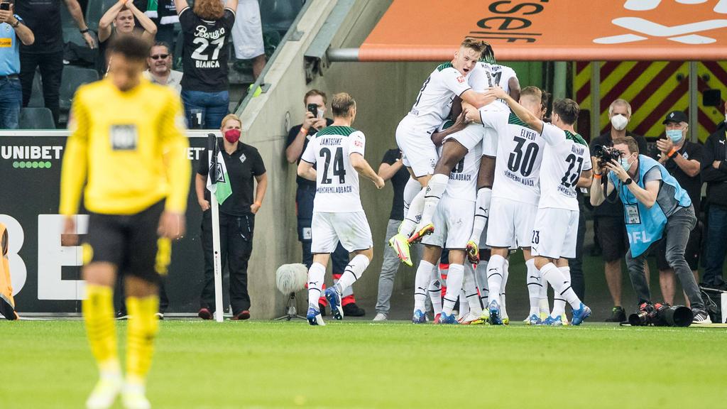 Borussia Mönchengladbach rang den BVB nieder
