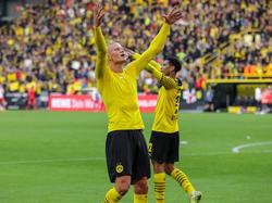 Erling Haaland volvió a anotar un doblete para los de Dortmund.