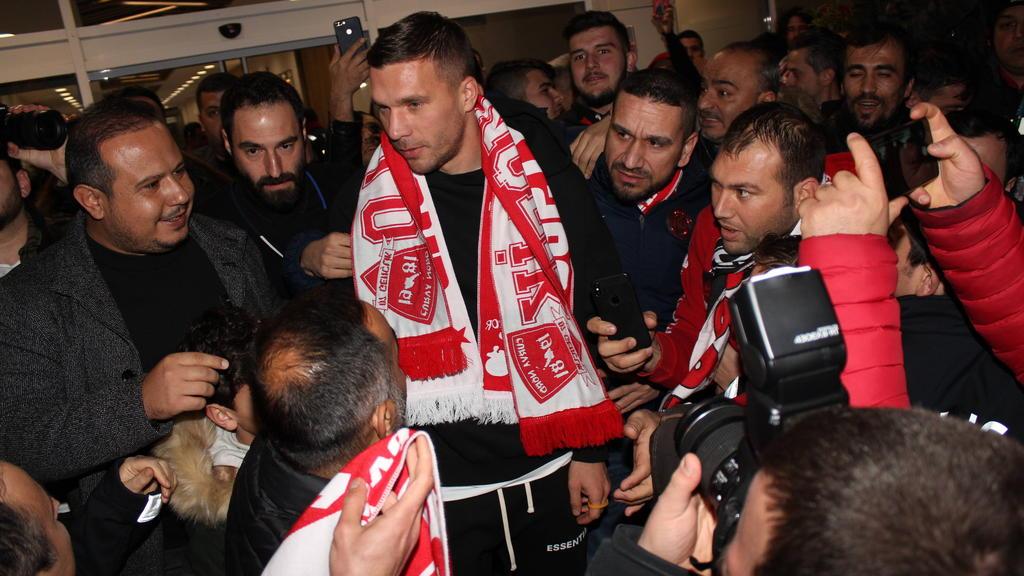 Wechselt erneut in die Türkei: Lukas Podolski