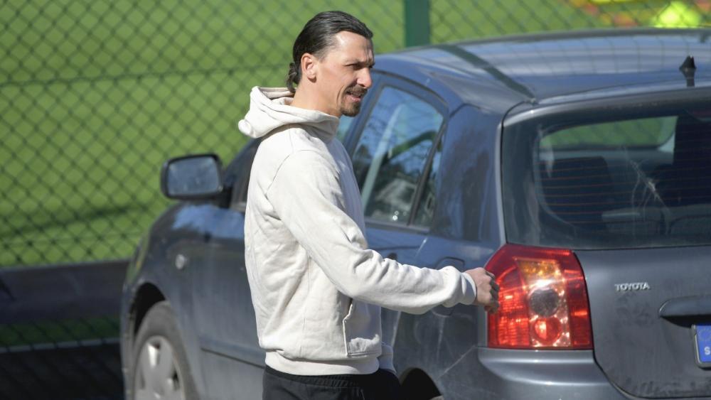 Zlatan Ibrahimovic heizt Gerüchte um seine Zukunft an