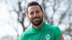 Beschäftigt sich derzeit nicht mit seinem Karriereende: Claudio Pizarro