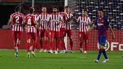 Simeone sigue sin poder ganar en el Camp Nou.