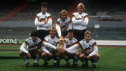 Die deutsche Nationalmannschaft jubelte 1990 über den Gewinn der WM