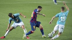 Lionel Messi trifft mit Barcelona auf den FC Bayern