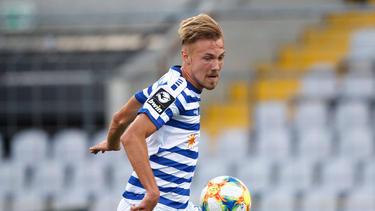 Wechselt von Duisburg zum FC St. Pauli: Lukas Daschner