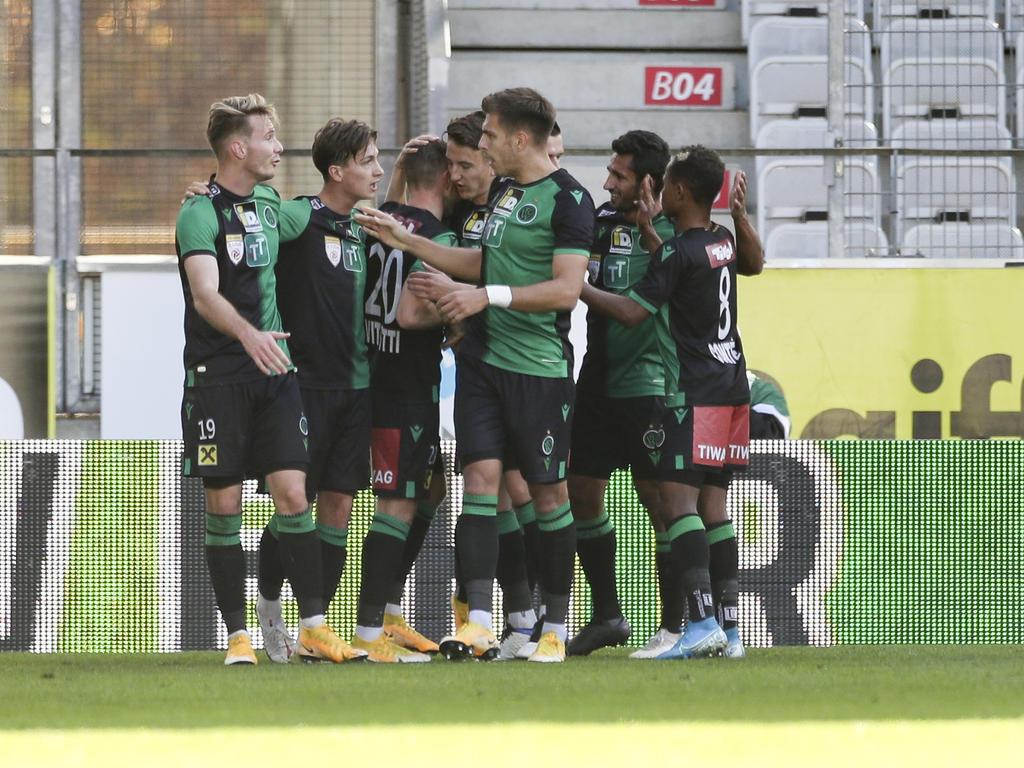 Die Innsbrucker starten eine Siegesserie