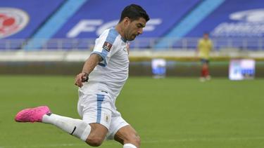 Uruguays Torjäger Luis Suárez