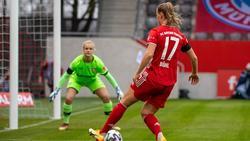 Klara Bühl erzielte den Treffer des Tages