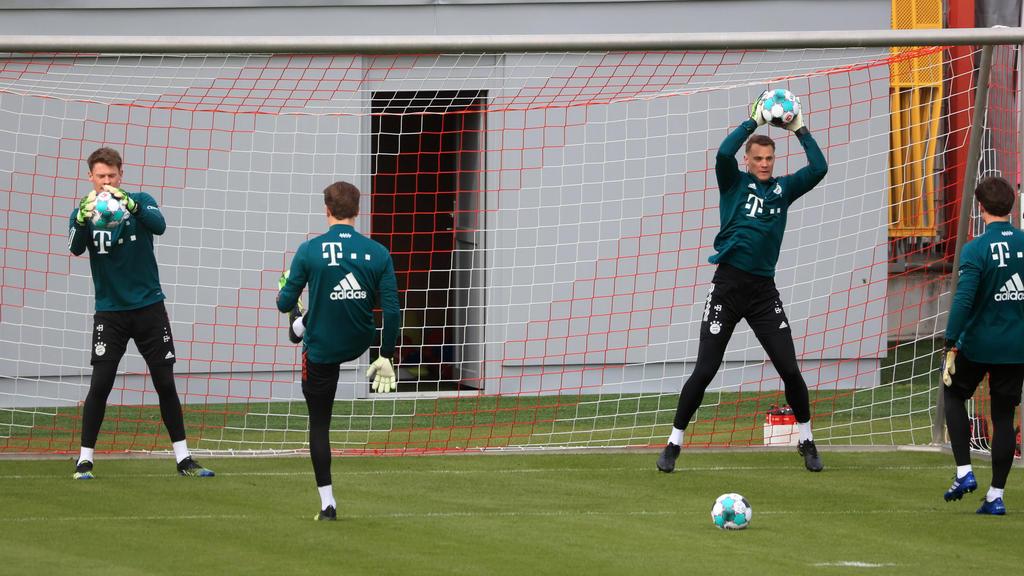 Nübel (li.) könnte den FC Bayern im Sommer verlassen