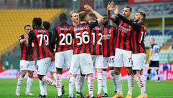 El Milan se sobrepuso a la expulsión de su estrella.