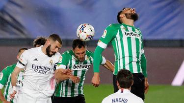 Die Partie zwischen Real Madrid und Real Betis endete 0:0