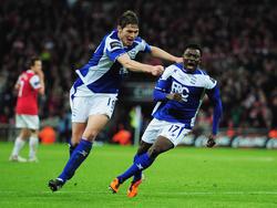 Obafemi Martins macht Birmingham zum League Cup-Champion 2011