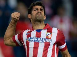 Nach seinem verschossenen Elfmeter schien der neue spanische Nationalspieler Diego Costa gegen Austria Wien ohne Tor zu bleiben - bis zur 82. Minute. Dann traf der gebürtige Brasilianer doch noch mit einem sehenswerten Fernschuss das Gehäuse der Österreicher. Am Ende hieß es im Champions-League-Gruppenspiel 4:0 für Atlético Madrid. (6.11.2013)
