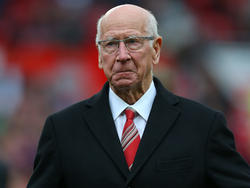 Bobby Charlton homenajeado en Old Trafford. (Foto: Getty)
