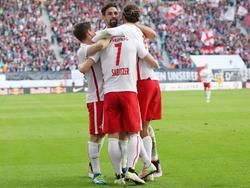 El Leipzig acompañará al Friburgo en la máxima categoría del fútbol alemán. (Foto: Getty)