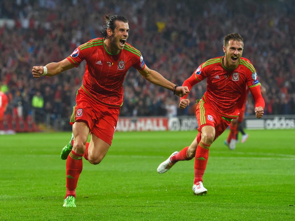 Gareth Bale (l.)