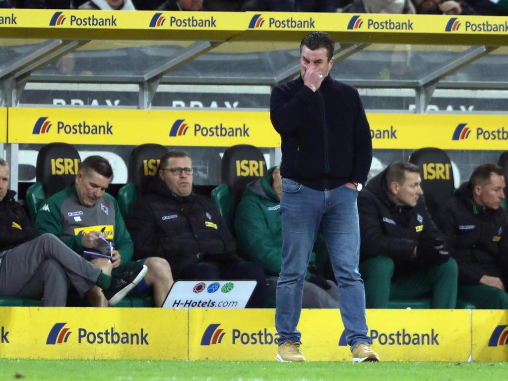 Dieter Hecking macht seinem Team keinen Vorwurf