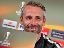 Trainer Marco Rose gibt sich optimistisch