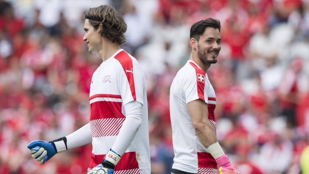Roman Bürki und Marwin Hitz fighten um den Nummer-eins-Status beim BVB