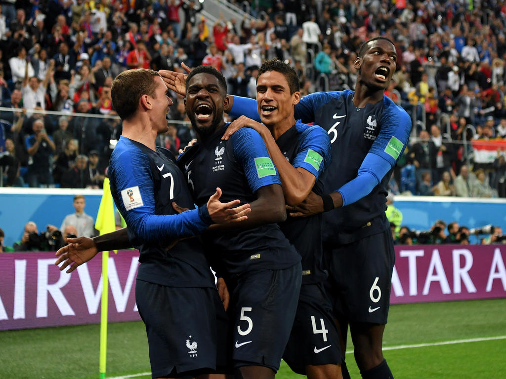 Diashow Halbfinal Noten Frankreich Gegen Belgien