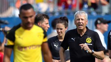 BVB-Trainer Lucien Favre ist nicht begeistert vom Pokal-Los Greuther Fürth