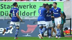 Der FC Schalke 04 jubelt über den Sieg
