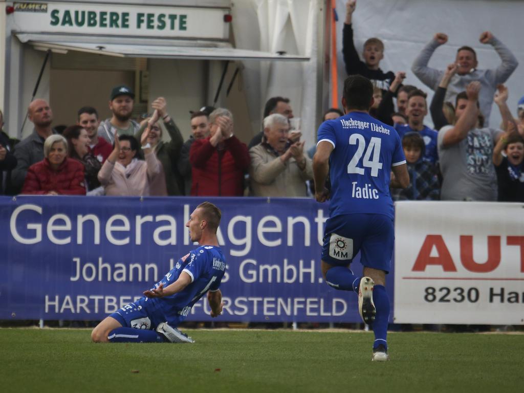 Fußball News 30 Aufsteiger Hartberg Paniert Rapid