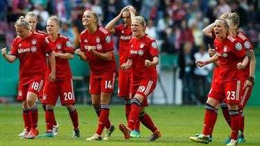 Die Frauen des FC Bayern bekommen es im Champions-League-Viertelfinale mit Olympique Lyon zu tun
