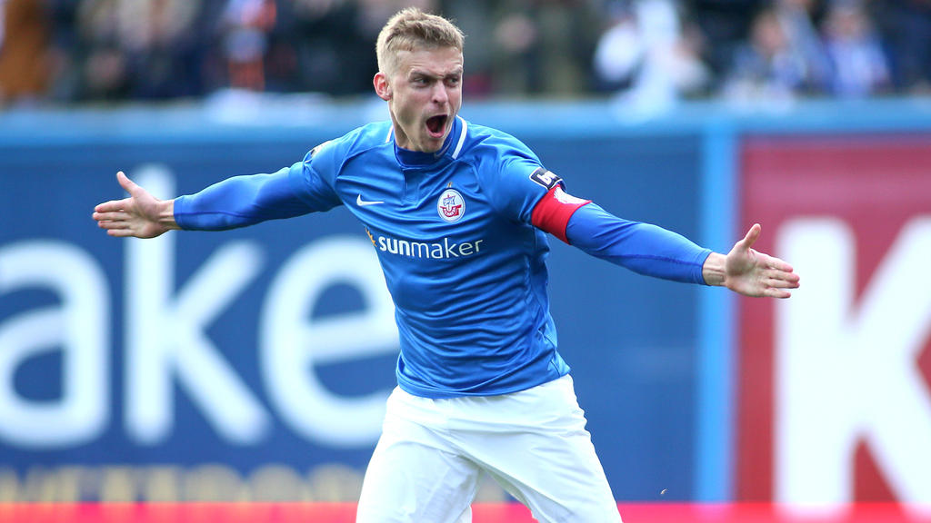 Oliver Hüsing und Hansa Rostock haben dem VfL Osnabrück ein Bein gestellt