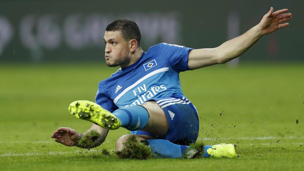 HSV-Verteidiger Kyriakos Papadopoulos arbeitet an seinem Comeback