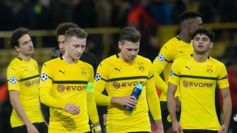 Kein gutes Spiel der Borussia: Der BVB spielte Remis gegen Brügge