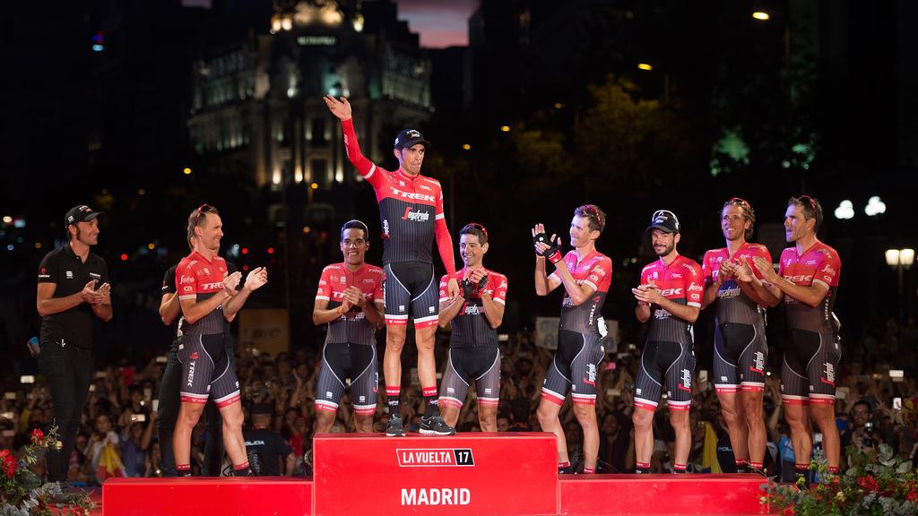 Alberto Contador gewann 2017 die Vuelta
